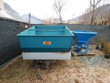 Sand and fertilizer spreader fo