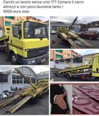 Used Nissan tow truc