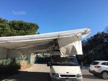 Van with tent