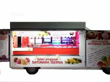 Truck autonegozio ice cream wit