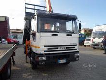 Eurocargo 75E15 tipper Crane &