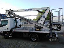 19 m truck mounted platform