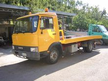 Tow truck Iveco 65.10 isolates