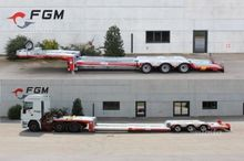Semitrailer transport vehicles
