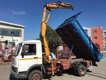 Truck Fiat 95.14 and folding cr
