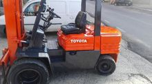 Toyota Forklift twin 30 q