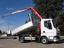 Renault Midlum 180 DCi Crane Fa