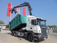 Scania R500 tipper with loader