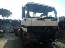 Mercedes Actros Hookloader mach