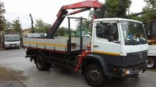 Truck MERCEDES cranes and tippe