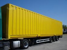 Semitrailer the swap body conta