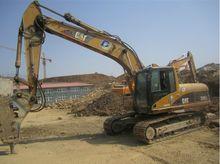 320C used CAT excavator with ha