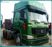 HOWO tractor trucks 6x4 371HP c