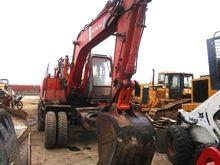 used wheel excavator hitachi ex
