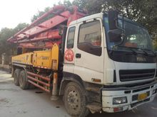 37m Sany used concrete pump for