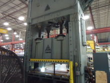 600 Ton Press - Clearing