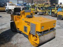 Road vibrating roller SAKAI TW2