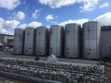 Tank-steel tanks acid-25m3