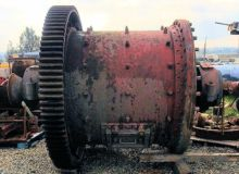 EIMCO 5' x 5' Ball Mill with 30