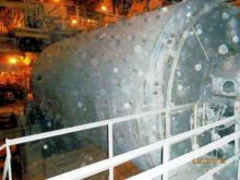 TRAYLOR 14' x 24' Ball Mill wit