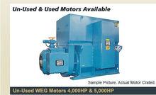 UN WEG 5000 HP Motor and Starte