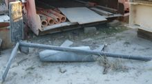 Rubber Coated Mixer Shaft with