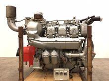 1987 MTU V6 396 model, Marine e