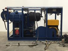 High pressure cleaning unit. Po
