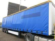 2006 Krone SDP 27 curtains