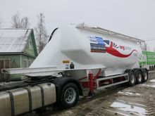 2001 Feldbinder EUT 38.3 cement