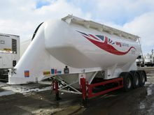 1992 Feldbinder EUT 36.3 cement