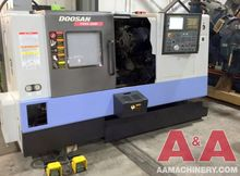 2007 Doosan Puma 240MC CNC Turn
