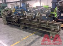 "TOS 24"" x 168"" Gap Bed Lathe"