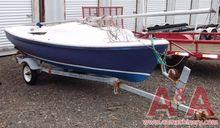 1972 American 16 ft. Sailboat