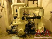 Kinney Vacuum Pump, 2- 50 hp wi