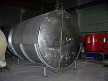 Stainless steel storage contain