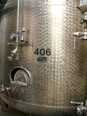 Pasteurisation tank standing on