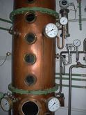Distillery, distillation plant,