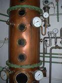 Distillery, distillation plant,