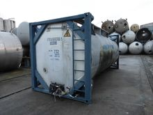 Stainless steel container vesse