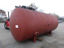 Steel pressure vessel 14-202A +