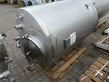 2010 Stainless steel tank V4A,