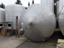 Fermenting pressure vessel made