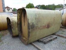 GRP-storage tank, on skirt supp
