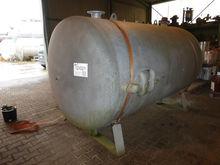 Steel pressure vessel galvanize