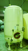 Steel pressure vessel, standing