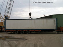 40-foot refrigerated containers
