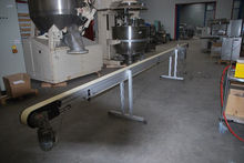 2005 CONVEYOR WITH PVC BAND. LE