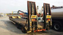 1996 OKM 2 axle low loader