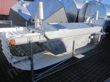 Steam blancher/cooker for shrim